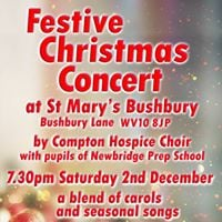 Festive Christmas Concert in aid of Compton Hospice