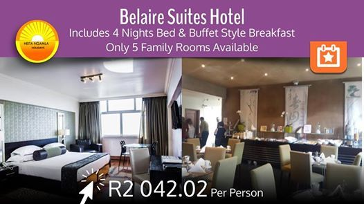 Hop To The Sea & Sand In The Beautiful Belaire Suites Hotel
