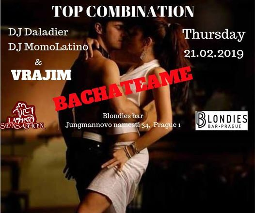 Best Latino Sensation Party -Bachateame 21.02