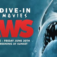 SOLD OUT - Dive-In Movies JAWS presented by Cult Classics