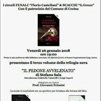 Presentazione del romanzo &quotIL PEDONE AVVELENATO&quot di Stefano Sala