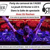 Party du carnaval de lAGEE