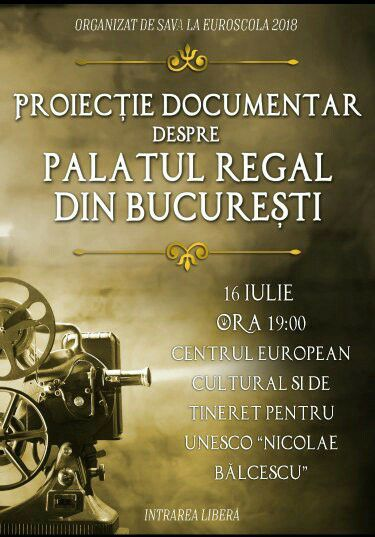 Proiecie Documentar despre Palatul Regal din Bucureti