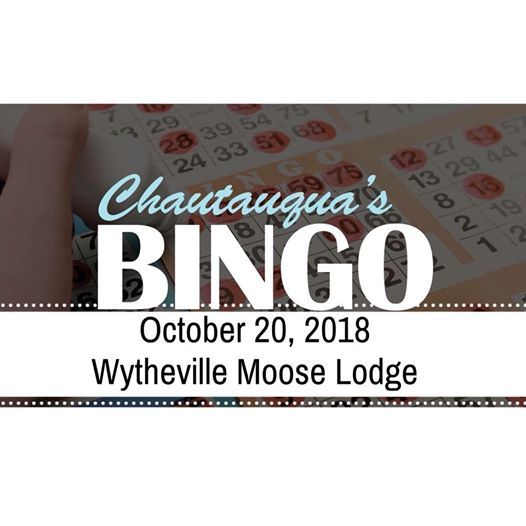 Chautauquas Fall Bingo Night