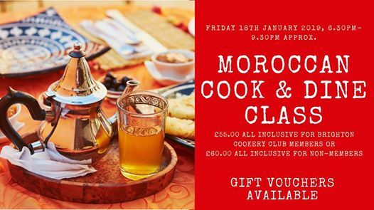 Moroccan Cook & Dine Class