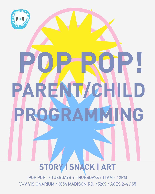 Pop Pop ParentChild Art Class