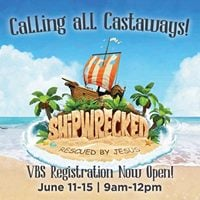 Shipwrecked Vacation Bible School 2018