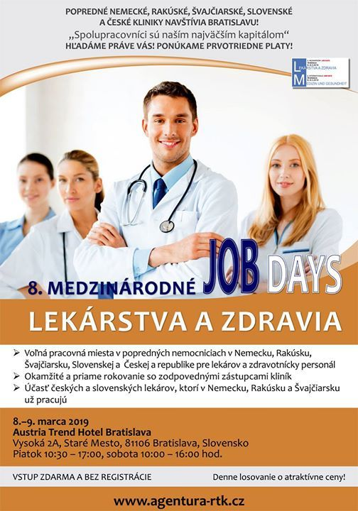 8th International Job Days for Medicine and Health