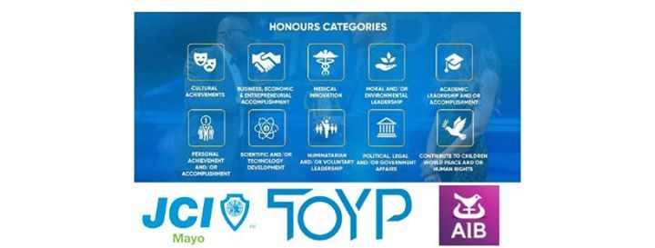 JCI Mayo Ten Outstanding Young Person Awards 2019