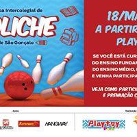 1 Copa Intercolegial de Boliche de So Gonalo