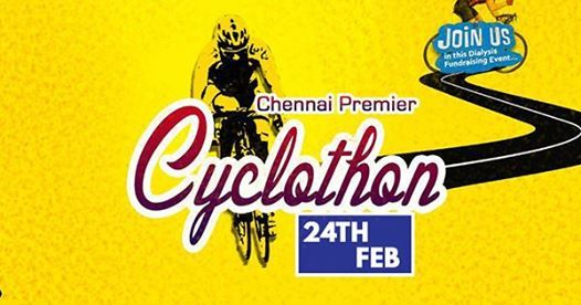 Chennai Premier Cyclothon - Ride for a good cause