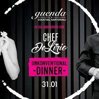 Guenda feat Chef De Lirio - Unkonventional Dinner