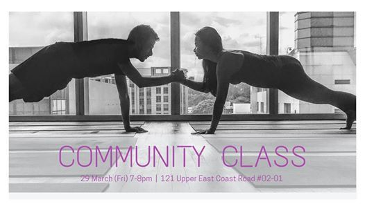 Community class Pair yoga