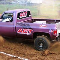 Truck Tug of War at Woodford County Fair