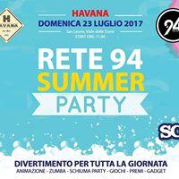 RETE 94 Summer Party- HAVANA San Leone