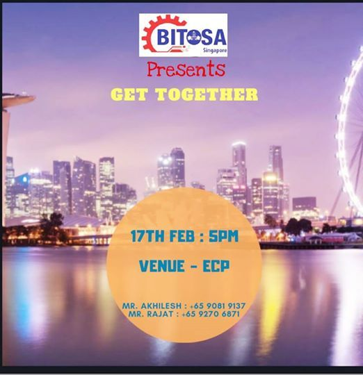 BITOSA SINGAPORE Presents GET TOGETHER