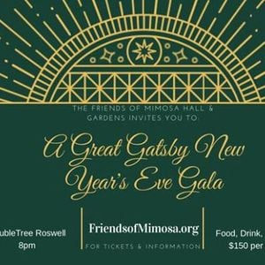 the great gatsby new years eve gala at doubletree by hilton atlantaroswell1075 holcomb bridge rd roswell georgia 30076 roswell