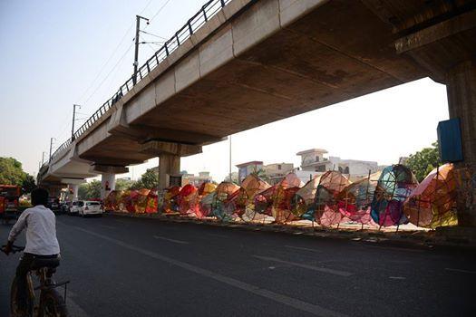Ravan in making Titarpur Photowalk by DPC