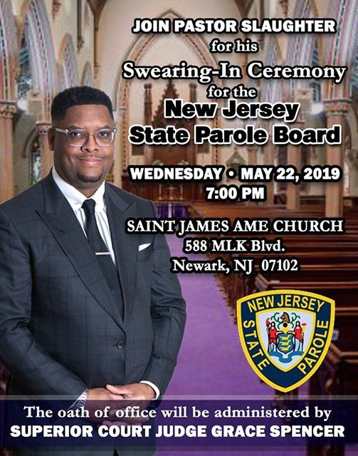 Swearing-In Ceremony for the New Jersey State Parole Board