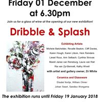 Dribble &amp Splash - a group exhibition