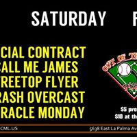 OCML Presents  Social Contract &amp Call me James (Fresno)
