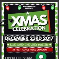 A Christmas Celebration at Finnegans