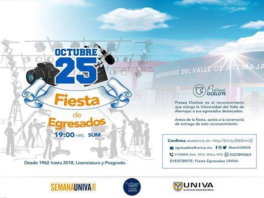 Fiesta De Egresados Semana Univa At Universidad Univa