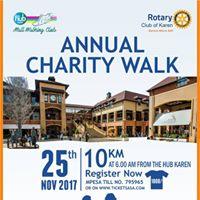 Rotary Club of Karen Annual Charity Walk