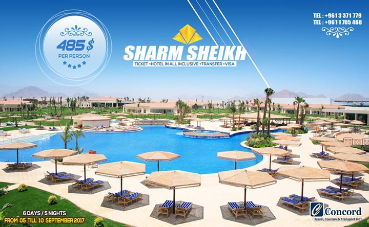 Sharm Sheikh Package for 485