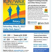 RunWalk for Mental Health
