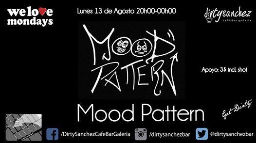 We Love Mondays Mood Pattern