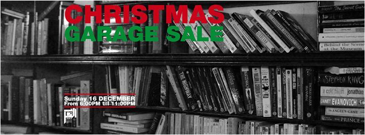 Christmas Garage Sale at Aleph B