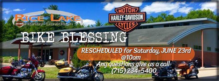 Bike Blessing At Rice Lake Harley Davidson Rice Lake