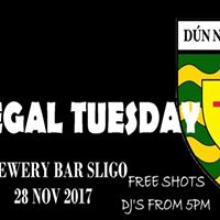 Donegal Tuesday Brewery Bar Sligo Djs from 5pm