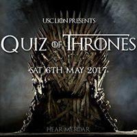 USC Lion Quiz Night 2017