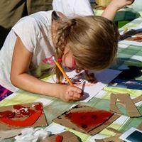 Art week at May half-term with artist Tony Wade