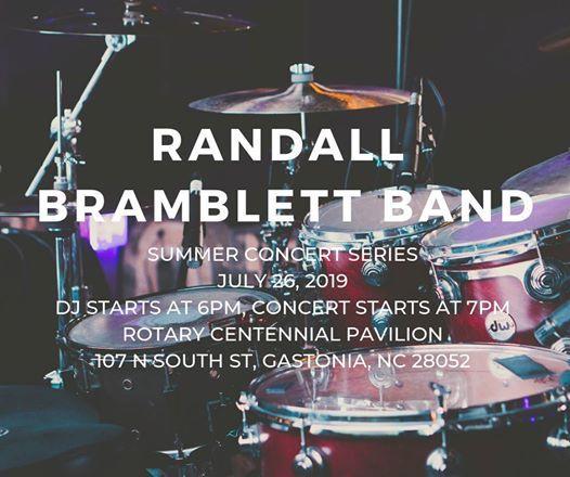 Summer Concert Series- Randall Bramblett Band