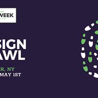 AIGA UPSTNY Design Week Design Crawl (Rochester NY)