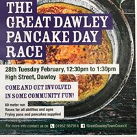The Great Dawley Pancake Race