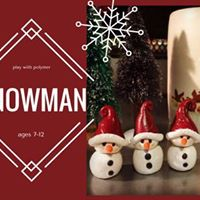 Play with Polymer  Snowman