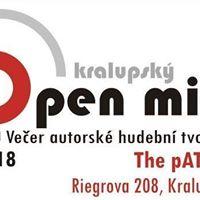 Kralupsk Open-mic .1