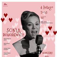 Sonia Bohosiewicz &quot10 sekretw Marilyn Monroe&quot Koncert Kielce