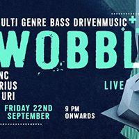 Wobble Live feat. FUNC DJ Uri and Carius  Bonobo Bandra