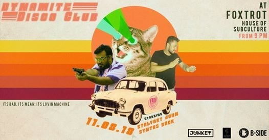 Dynamite Disco Club 002 Ft. Stalvart John and Synths Back