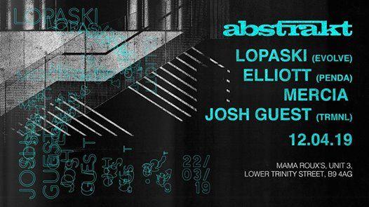 Abstrakt Launch w Lopaski Elliott Mercia & Josh Guest