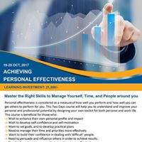 Achieving Personal Effectiveness Workshop