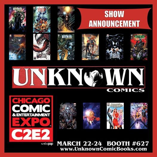 C2e2 Comic & Entertainment Expo Booth 627