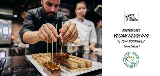 Vegan Pastry MasterClass by Toni Rodriguez - Foundation 1