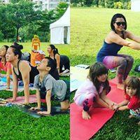Complimentary Outdoor Family Yoga at Bishan Park (Nov)
