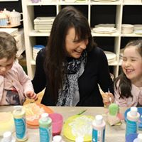 Paint with Mum &amp Granny Weekend